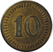Token - 10 – obverse