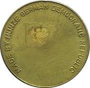 Medal - DEFA  – reverse