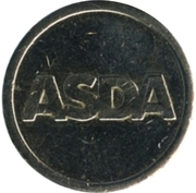Parking Token - ASDA – obverse