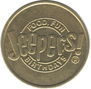 Token - Jeepers! – obverse