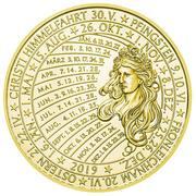 Calendar Medal (2019) – reverse