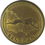 Admission Token - Sandown Greyhound Racing – reverse