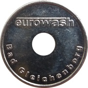 Car Wash Token - Eurowash (Bad Gleichenberg) – obverse
