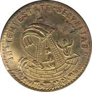 Token - S. Georgius (Equitum Patronus / In Tempestate Securitas; Kremnitz) – reverse