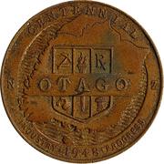 Medallion - Otago Centennial – obverse