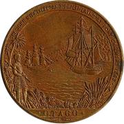 Medallion - Otago Centennial – reverse