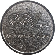 Car Wash Token - OCV (Curtarolo) – obverse