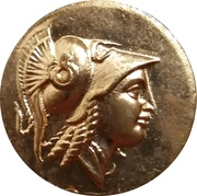 Token - Alexander the Great Golden Stater Replica (Narodni muzej, Ljubljana) – obverse