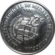 Token - RFEF Medallas de la Seleccion (Valeron) – reverse