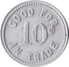 10 Cents - Champion Sporting Goods Co. (McCook, Nebraska) – reverse