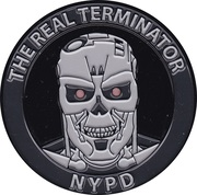 Token - The Real Terminator NYPD – obverse