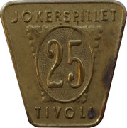 25 Øre - Poul Kristensen (Copenhagen) – reverse