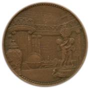 Medal - Keszthely – reverse