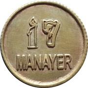 Token - Manayer (Class of 2009) – reverse