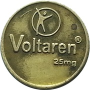 Token - Voltaren Antibiotic 25mg – obverse