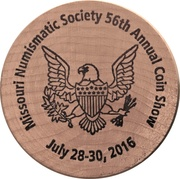 Wooden Nickel (Standing Liberty Quarter) – obverse