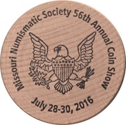 Wooden Nickel (Walking Liberty Half Dollar) – obverse