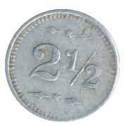 2½ Cents - P. Hohenadel Jr. & Co. (Cassville, Wisconsin) – reverse