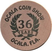 Wooden Nickel - Ocala Coin Club – reverse