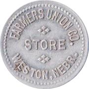 25 Cents - Farmers Union Company Store (Weston, Nebraska) – obverse