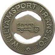 1 Fare - Williamsport Trans. Co. (Williamsport, Pennsylvania) – obverse