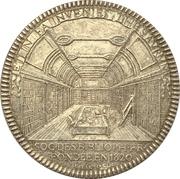 Token - Société des bibliophiles français – reverse