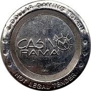 2 Dollars - Casino Rama (Rama, Ontario) – obverse