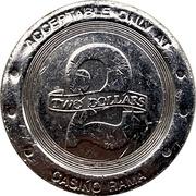 2 Dollars - Casino Rama (Rama, Ontario) – reverse