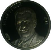 Token - Presidents of the Czech Republic and Czechoslovakia (Miloš Zeman) – obverse