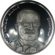 Token - Presidents of the Czech Republic and Czechoslovakia (Václav Klaus) – obverse