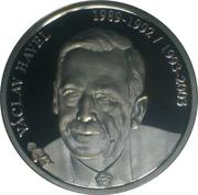 Token - Presidents of the Czech Republic and Czechoslovakia (Václav Havel) – obverse