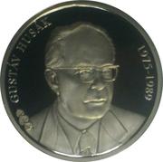 Token - Presidents of the Czech Republic and Czechoslovakia (Gustáv Husák) – obverse