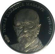 Token - Presidents of the Czech Republic and Czechoslovakia (Tomáš Garrigue Masaryk) – obverse