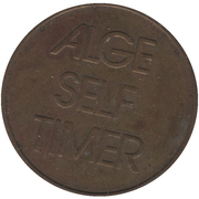 Token - Alge Timing Sports (Lustenau) – reverse