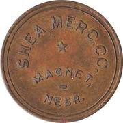 1 Dollar - Shea Merchandise Company (Magnet, Nebraska) – obverse