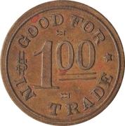 1 Dollar - Shea Merchandise Company (Magnet, Nebraska) – reverse