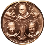 Token - Apollo XI – obverse