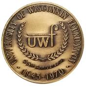 Token - University of Wisconsin Foundation – obverse