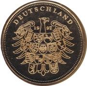Token - Deutschland (Bremer Stadtmusikanten) – reverse