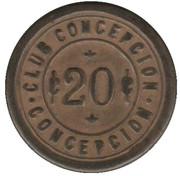 20 Centavos - Club Conceptcion – obverse