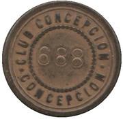 20 Centavos - Club Conceptcion – reverse