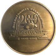 Token - Beaver County Bicentennial – obverse