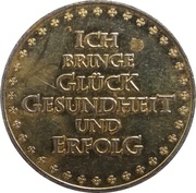 New Year Lucky Token (Spritkönig) – reverse