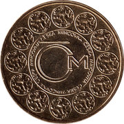 Czech Mint advertising token – obverse