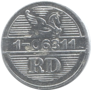Token - Reader's Digest (RD 1-06311; Aluminium) – obverse