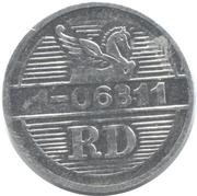 Token - Reader's Digest (RD 1-06311; Aluminium) – reverse