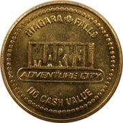 Token - Marvel Adventure City, Niagara Falls (Spiderman) – obverse