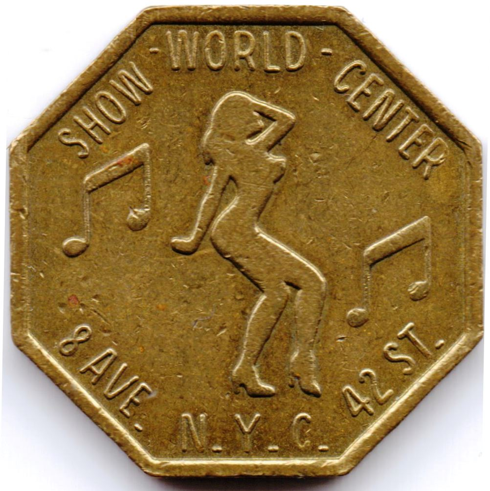 Worlds Greatest Show Place Token