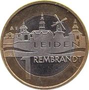 1 Rembrandt - Leiden (400th Anniversary Rembrandt van Rijn) – reverse
