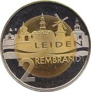 2 Rembrandt - Leiden (400th Anniversary Rembrandt van Rijn) – reverse